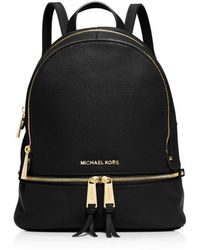 9f1966e3b2a957 Michael Michael Kors Cooper Leather Large Backpack in Brown - Lyst