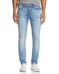 FRAME - L'homme Skinny Fit Jeans In Beaudry - Lyst