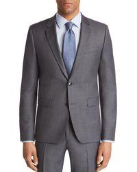 HUGO - Astian Slim Fit Birdseye Suit Jacket - Lyst