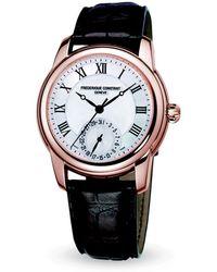 Frederique Constant - Frédérique Constant Classic Manufacture Automatic Watch, 43mm - Lyst