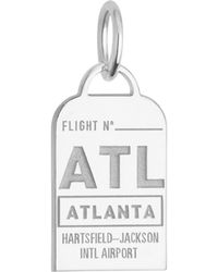 Jet Set Candy - Georgia Atl Luggage Tag Charm - Lyst