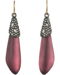 Alexis Bittar - Crystal Cluster Drop Earrings - Lyst