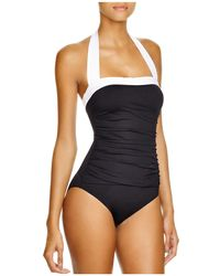 Ralph Lauren - Lauren Bel Aire Maillot One Piece Swimsuit - Lyst