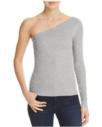 Cotton Candy - One Shoulder Sweater - Lyst