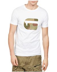 G-Star RAW - Mai Slim Fit Logo Tee - Lyst