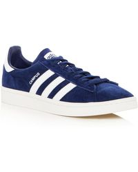 adidas - Men's Campus Suede Lace Up Sneakers - Lyst