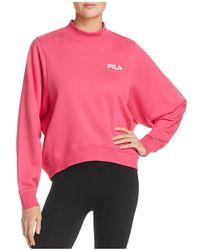 Fila - Summer Mock-neck Sweatshirt - Lyst