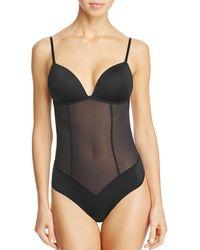 Fine Lines - Low Back Convertible Bodysuit - Lyst