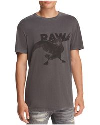 G-Star RAW - Parta Crewneck Short Sleeve Tee - Lyst