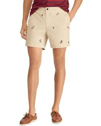 Polo Ralph Lauren - Patterned Classic Fit Prepster Shorts - Lyst