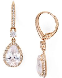 Nadri - Miss Pear Drop Earrings - Lyst