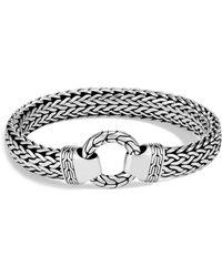 John Hardy - Men's Sterling Silver Classic Chain Ring Bracelet - Lyst