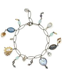 Chan Luu - Adjustable Bracelet With Special Stones - Lyst