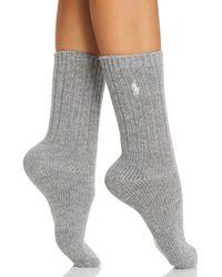 Ralph Lauren - Polo Hiker Slouch Socks - Lyst