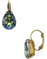 Sorrelli - Teardrop Leverback Earrings - Lyst