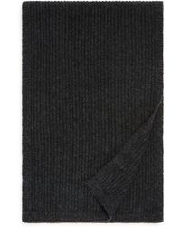 Bloomingdale's - Ribbed Cashmere Scarf - Lyst