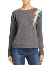 Honey Punch - Rainbow Lightning Bolt Sweatshirt - Lyst