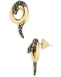 Alexis Bittar - Coiled Snake Post Earrings - Lyst