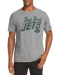 Junk Food - Jets Marled Graphic Tee - Lyst