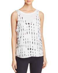 Kenneth Cole - Layered Tank - Lyst