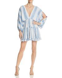 MISA - Caterina Split-sleeve Dress - Lyst