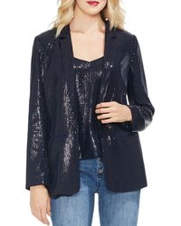 Vince Camuto - Sequined Open-front Blazer - Lyst
