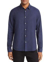 John Varvatos - Clean Snap-front Regular Fit Oxford Shirt - Lyst