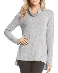 Karen Kane - Cowl Neck Sweater - Lyst