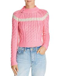 Preen Line - Cropped Cable Sweater - Lyst