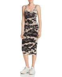 Enza Costa - Tie - Dye Tank Dress - Lyst