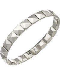 Chimento - 18k White Gold Armillas Collection Square Link Bracelet - Lyst
