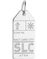 Jet Set Candy - Slc Salt Lake City Luggage Tag Charm - Lyst