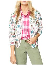 Sanctuary | In Bloom Smocked Bomber Jacket | Lyst