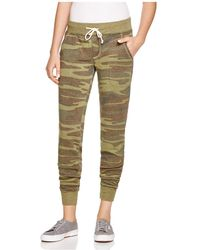 Alternative Apparel - Camouflage Joggers - Lyst