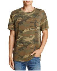 Alternative Apparel - Concrete Jungle Camouflage Short Sleeve Knit Tee - Lyst
