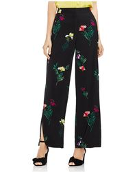 Vince Camuto - Tropical Garden Bouquet Wide-leg Trousers - Lyst