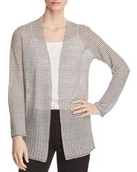Eileen Fisher - Simple Open Cardigan - Lyst