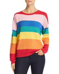 Honey Punch - Rainbow Stripe Jumper - Lyst