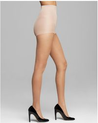 CALVIN KLEIN 205W39NYC - Matte Ultra Sheer Control Top Tights - Lyst