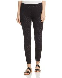Johnny Was | Eyelet Leggings | Lyst