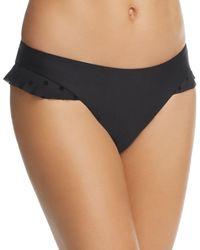 Ella Moss - Sheer Dot Retro Bikini Bottom - Lyst