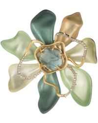 Alexis Bittar - Block Flower Pin - Lyst