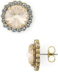 Sorrelli - Aspen Crystal Stud Earrings - Lyst