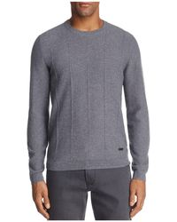 Armani - Ribbed Cashmere Sweater - Lyst
