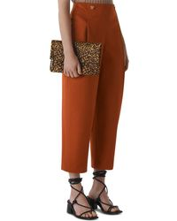 Whistles - Alicia Crop Pants - Lyst