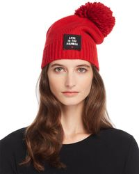 Sundry - Love Is The Answer Beanie - Lyst