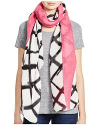 Aqua - Graphic Pop Pareo Scarf - Lyst