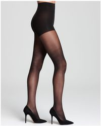 DKNY - Comfort Luxe Control Top Tights - Lyst