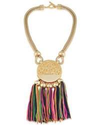 Trina Turk - Mojito Nights Tasselled Pendant Necklace - Lyst