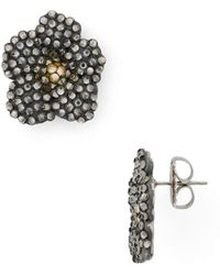Roni Blanshay - Flower Earrings - Lyst